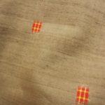 小千谷草木染手織紬