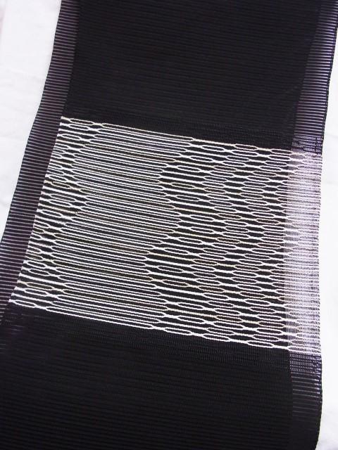 河村織物 絽綴れ八寸帯