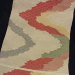琴糸織 手織夏八寸帯